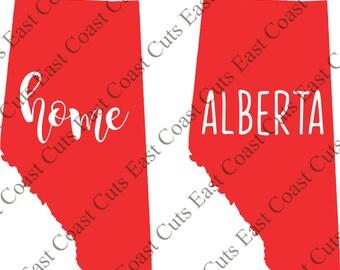 Alberta SVG/DXF/PNG