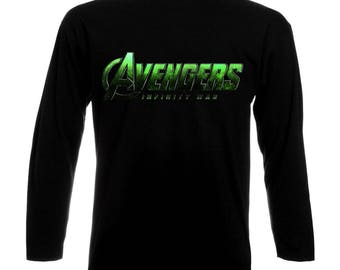 Inspired By The Avengers Infinity War Long Sleeve T-Shirt