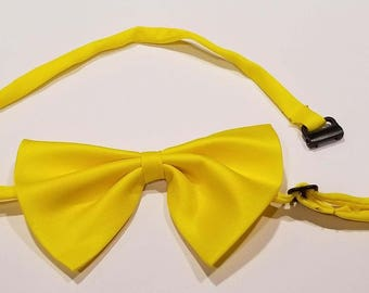 Yellow Bow tie for dog or cat