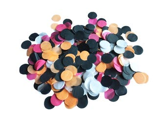Immediately available-confetti made of silk paper blue pink-perfect for weddings, parties or Piñatas