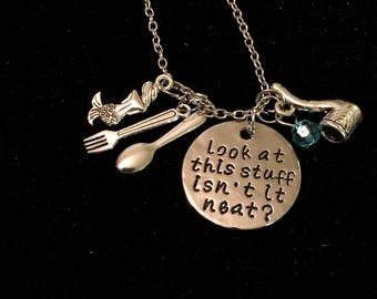 The Little Mermaid Charm Necklace