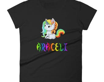 Araceli Unicorn Ladies T-Shirt