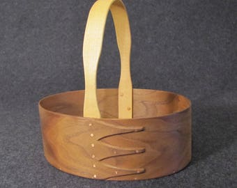 Shaker Basket or Carrier Walnut and Maple #5