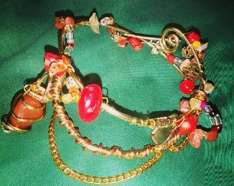 Cuff charm Bracelet