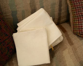 12 French Antique Napkins