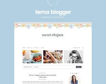 Sweet Elegant • Blogger Template