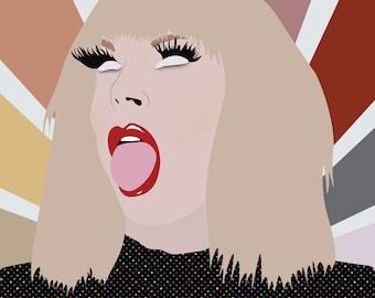 Katya Zamolodchikova Framed artwork