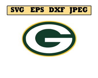 Green Bay Packers SVG File - Vector Design in, Svg, Eps, Dxf, and Jpeg Format for Cricut and Silhouette, Digital download !!!!!!!!!!!!!!!!!!