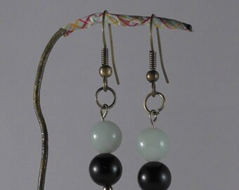 These earrings. Gemstones: