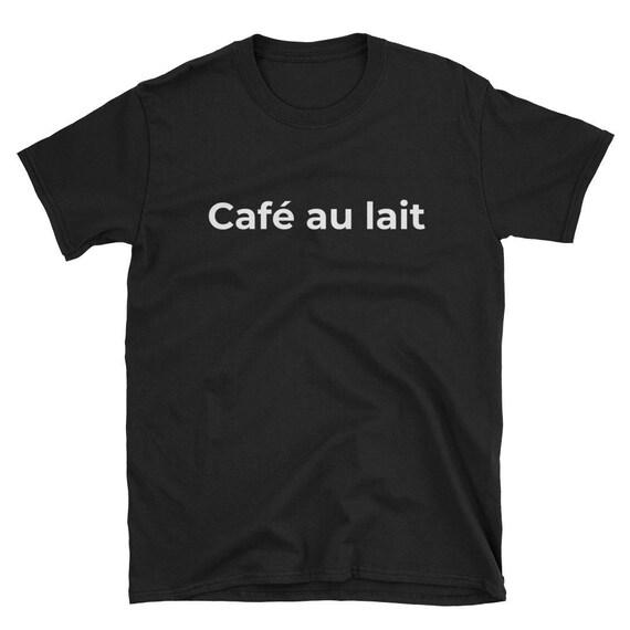 Café au lait Unisex Print Tee