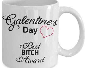 Unbiological Sister Mug - Valentine Galentine Day - Best Friend Gift - BFF Tribe Soul Friends Sorority - Coffee Tea White Ceramic 11oz Mug