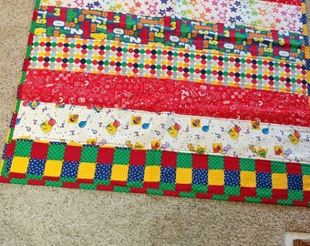"""Baby Quilt-""""Bright and Bold"""""""