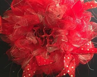Small Valentine's Day wreath