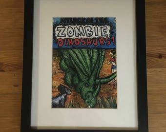 Attack of the Zombie Dinosaurs