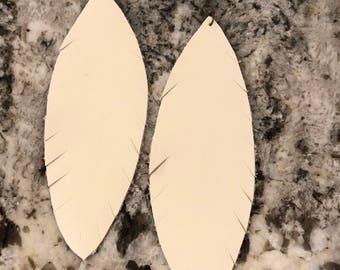 Leather Statement Earrings