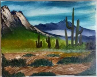 "Desert Valley 16"" x 20"""