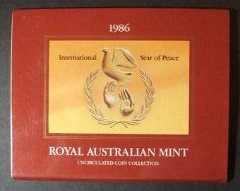 1986 Australia Mint Set