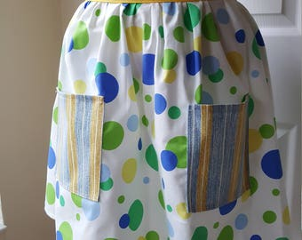 Polka Dot Kitchen Apron