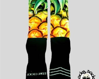 Pineapple Socks || FREE SHIPPING ||