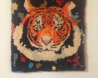 Fiercely tiger