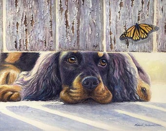 Get It A Limited Edition Gordon Setter Print