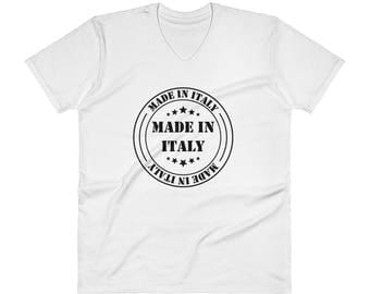 Made in Italy V-Neck T-Shirt