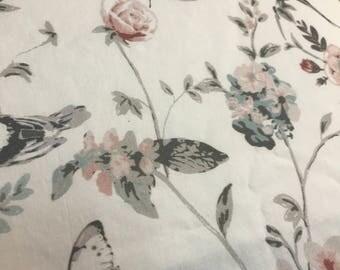 Floral Baby Girl Crib/Toddler Sheet