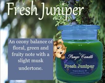 Fresh Juniper Scented Jar Candle (16 oz.)!