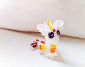 Miniature kawaii dragon
