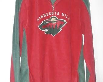 Minnesota Wild reebok sweatshirt in xl