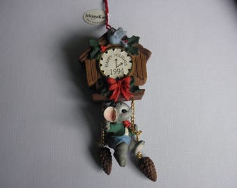 Midwest of Cannon falls Mousekins 1994 Limited Edition Collectible Ornament