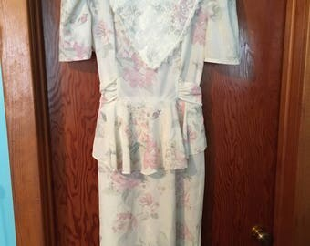 80's Vintage Mother of the Bride Dress