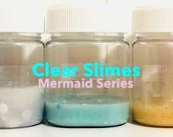 Mermaid Clear Slimes