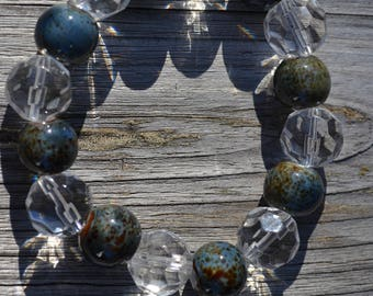Facet Glass and Ceramic Beads