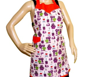 Retro Apron - Kitchen Gadget Theme