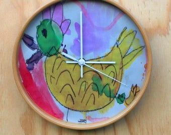 Custom Art Clock