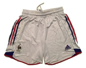 FFF France vintage Adidas tennis shorts - Sz M