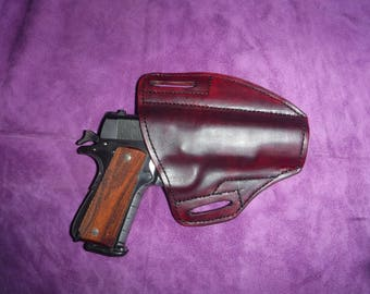 Custom hand made gun Holster