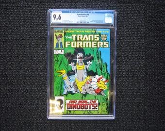Transformers #8 - 1985 CGC 9.6 - 1st full appearance Dinobots