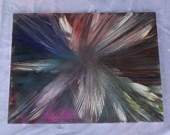 Feather Bouquet 18x24