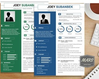 Creative Resume Template / CV Template and Cover Letter | Professional and modern Resume.