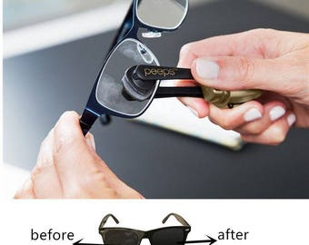 Peeps Eyeglass Cleaner : All In One Lens Cleaner for Eyeglasses and Sunglasses FREE SHIPPING