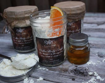 Natural Vodka & Orange Body Scrub