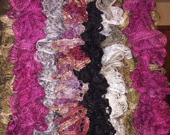 Assorted Ruffle Scarves