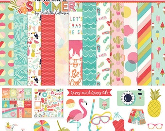 Photo Play For the Love of Summer 12 x 12 Collection