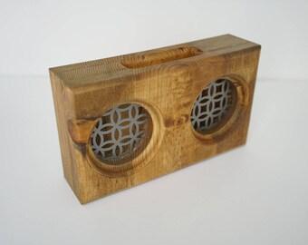 Wooden Smartphone Amplifier / Passive Speaker - Pine