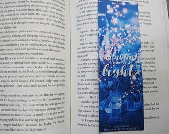 And At Last I See The Light bookmark || ONE-SIDED