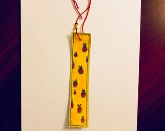 Lady Bugs - Bookmark