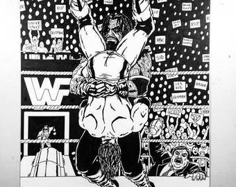 Undertaker: Tombstone - 11x17 Fan Art Print