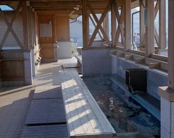 Public Foot Bath - Katsuura